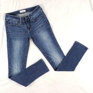 Bullhead Black Skinny jeans cool distressing 5